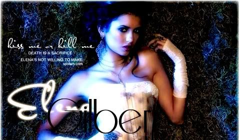 ♥.. Kiss me or kill me .. which will it be? We both know you're only capable of one ..♥ Elenagilbert