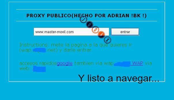 Método para navegar en internet Perfil Internet sin saldo.. Proxy2_zps3b438103