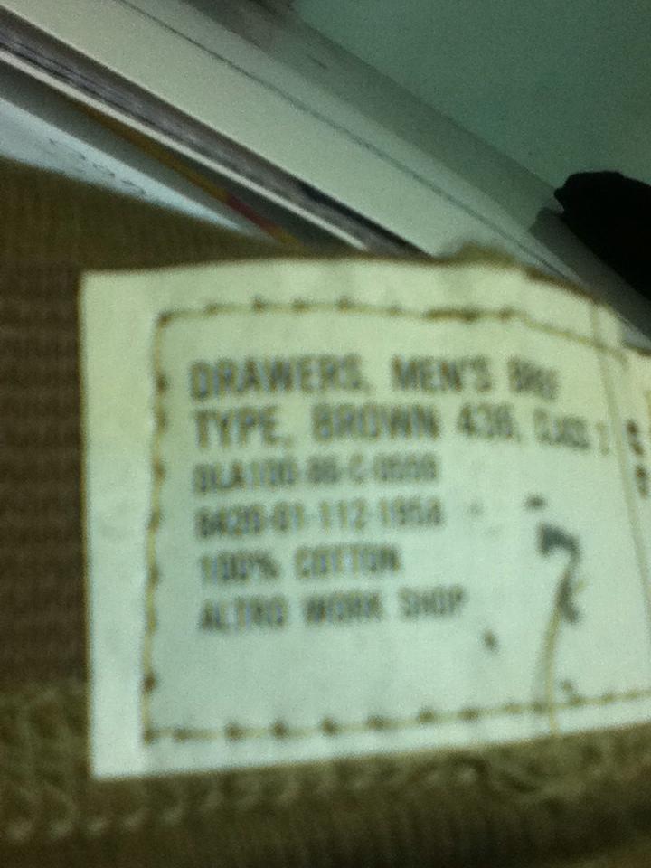 USGI unused Mens Brown underwear... C7F254A5-4449-44F7-83E6-5E9DBDB2FA2D-6973-0000052F2DE03D57