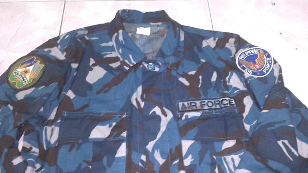 Airforce Blue camo and beret