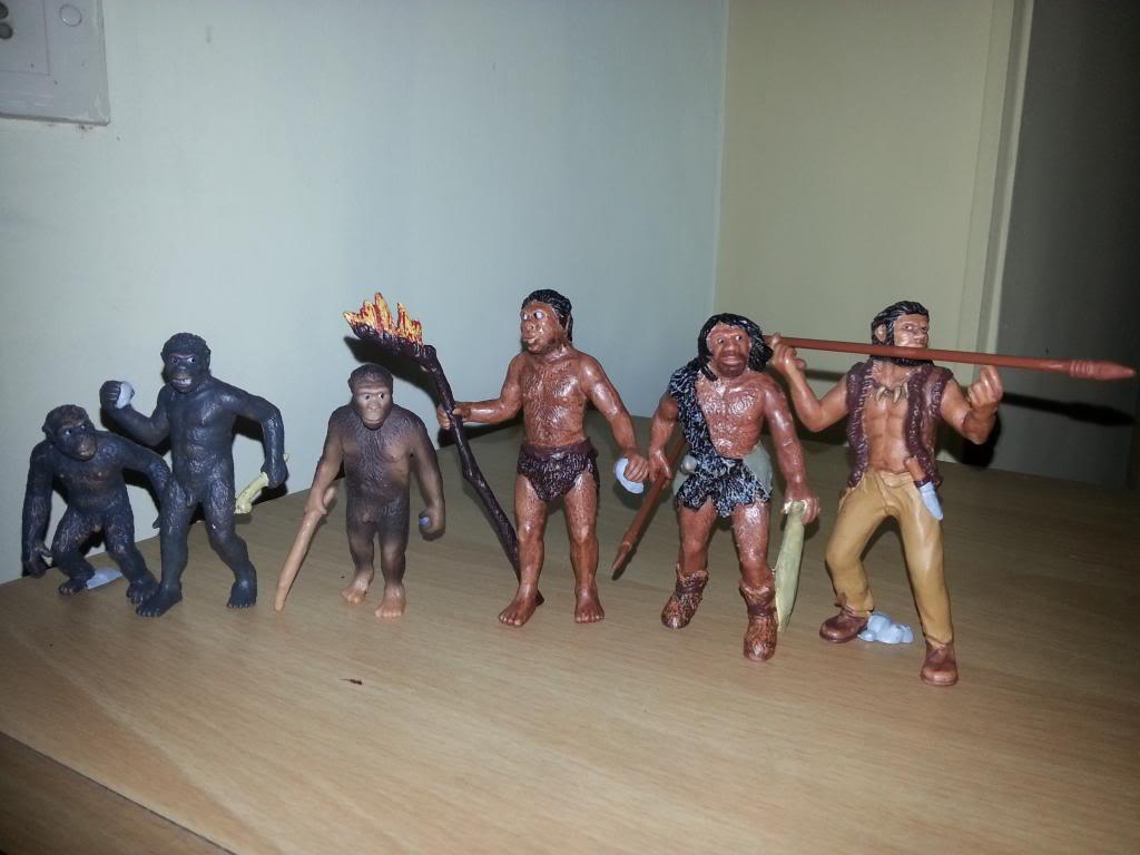 My Bullyland  arrivals  EvolutionofMan_zps88f4217c
