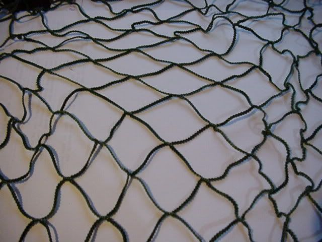 How To make a ghille suit Net