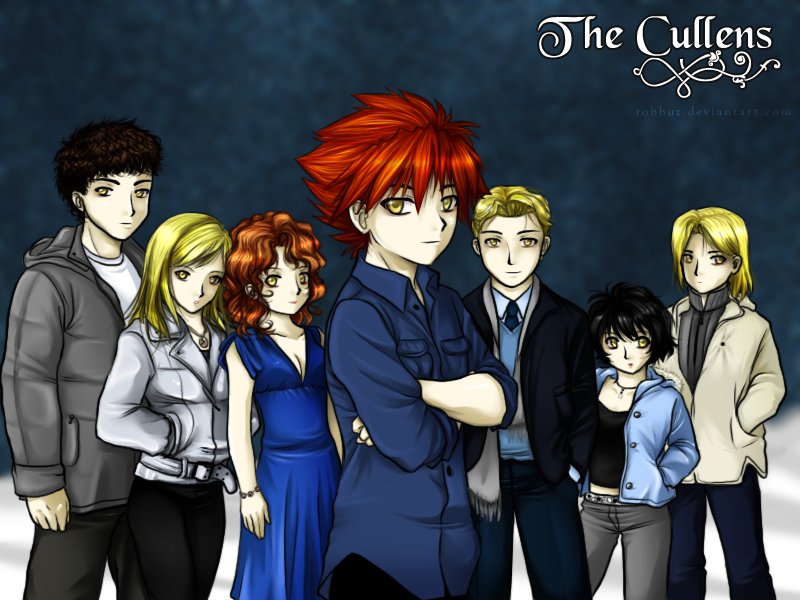 GROUP PICS. Cullens