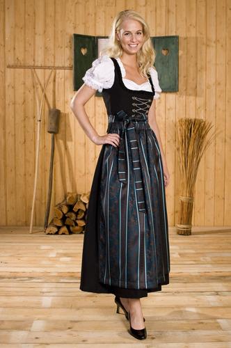Нравится ли Вам австрийская национальная одежда? Dirndl_schwarz_by_mimmymania
