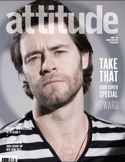Attitude Magazine janvier 09 Howattitude