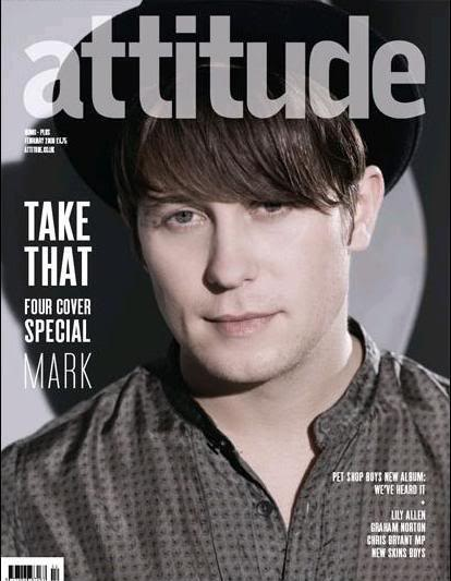 Attitude Magazine janvier 09 Markattitude