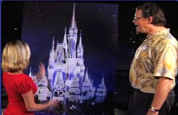 [Magic Kingdom] Château de Cristal copié sur Disneyland Paris Cindycastle1