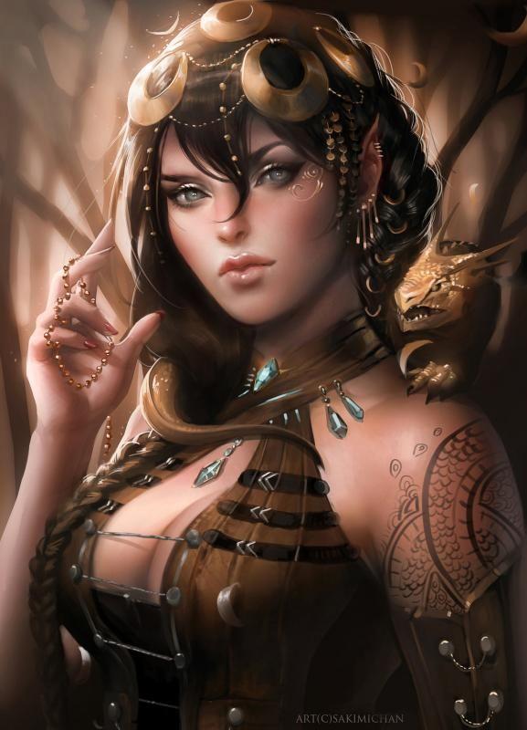 Yaaenia Royal_assassin_by_sakimichan-d4wzfnx
