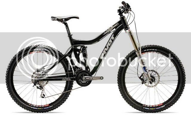 "Pivot Firebird 6.5"" trail bike FB_blk"