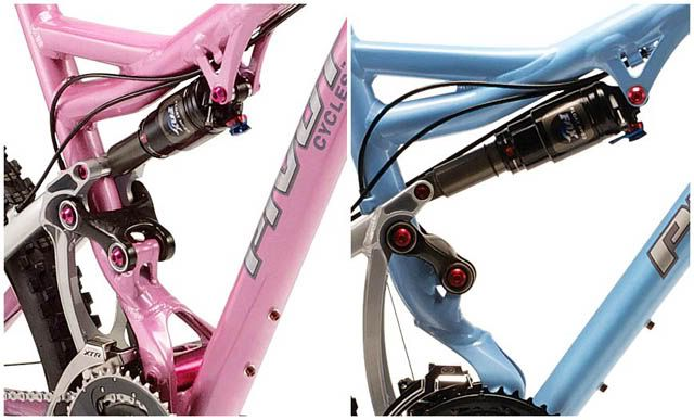 DW-Link bikes for WOMEN Mach5w