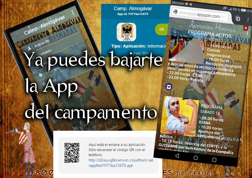 CAMPAMENTO de RECREACIÓN Bodas de Isabel de Segura 800 aniversario AMANTES App