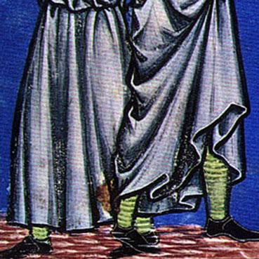ABARCA ALMOGÁVAR Calcetin-medieval