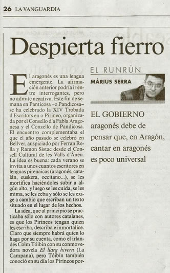 Dispierta Fierro en la Vanguardia Dp1