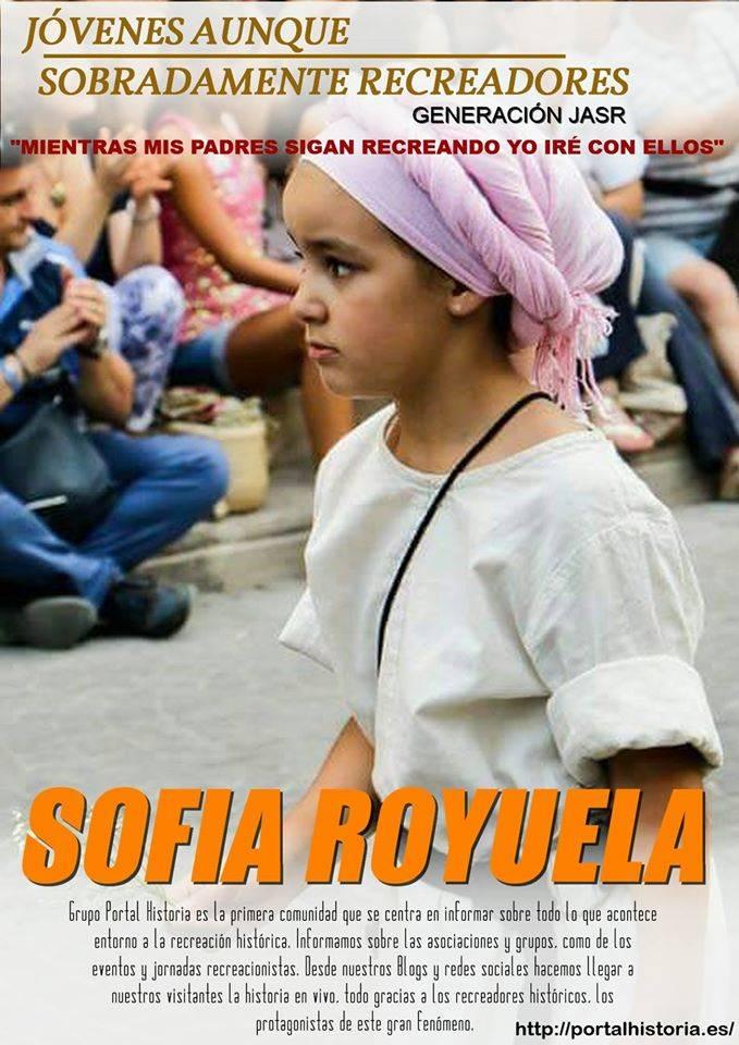Sofía Royuela entrevistada en Portal Historia Sofia%20royuela