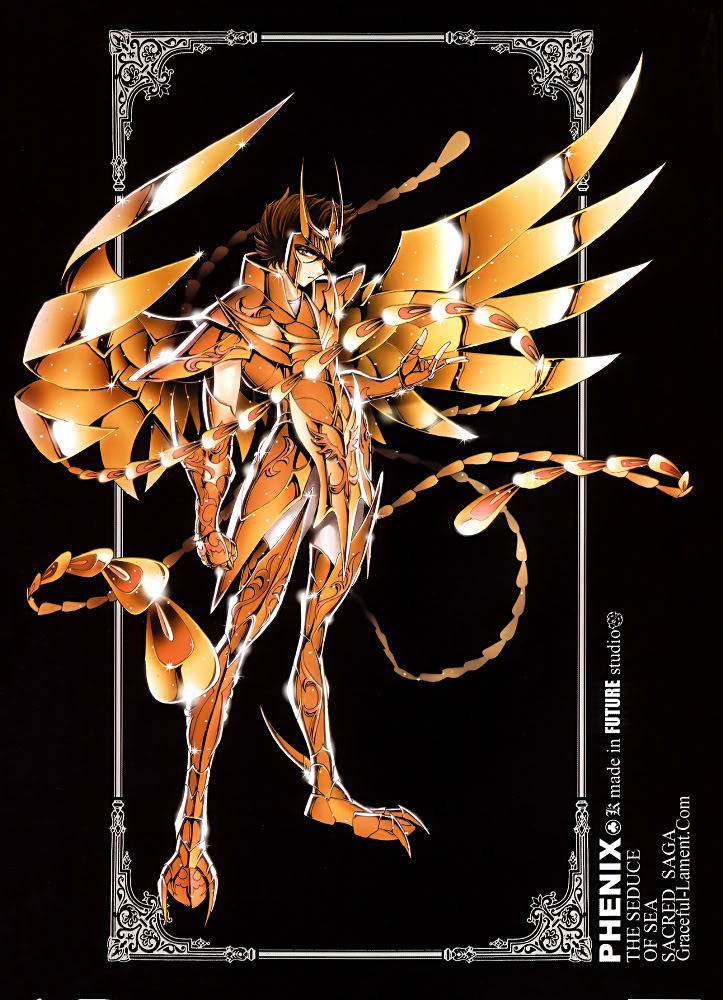 Novas armaduras dos Cavaleiros do Zodíaco! Phenix-1