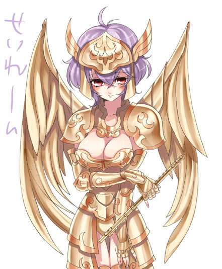 Novas armaduras dos Cavaleiros do Zodíaco! G-solent