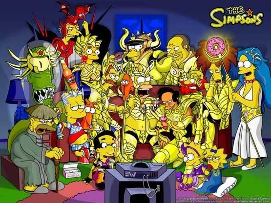 Novas armaduras dos Cavaleiros do Zodíaco! SimpsonsCCC