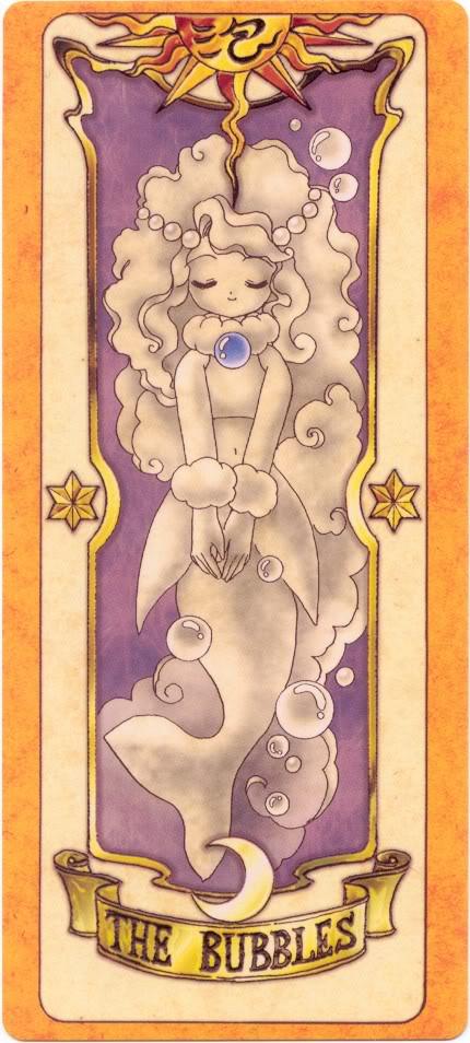 Sakura Card Captors Clow-Bubbles
