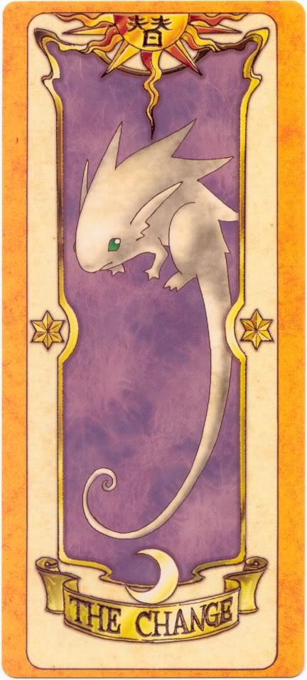 Sakura Card Captors Clow-Change