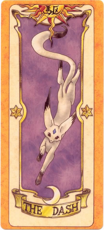 Sakura Card Captors Clow-Dash