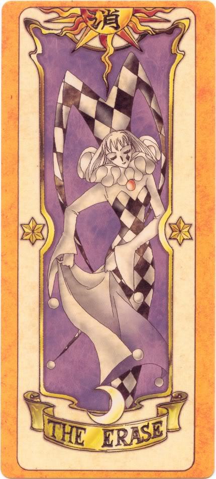 Sakura Card Captors Clow-Erase