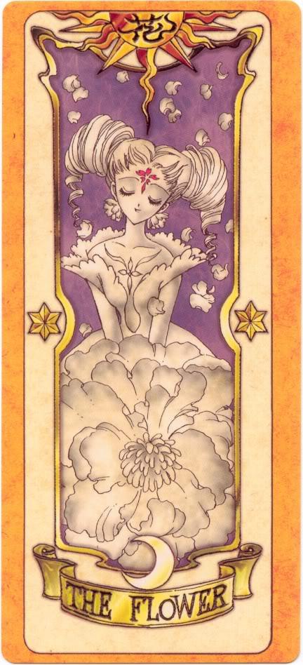 Sakura Card Captors Clow-Flower