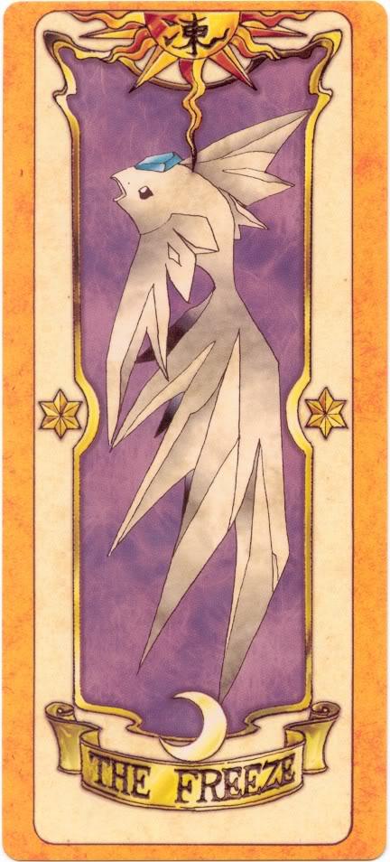 Sakura Card Captors Clow-Freeze