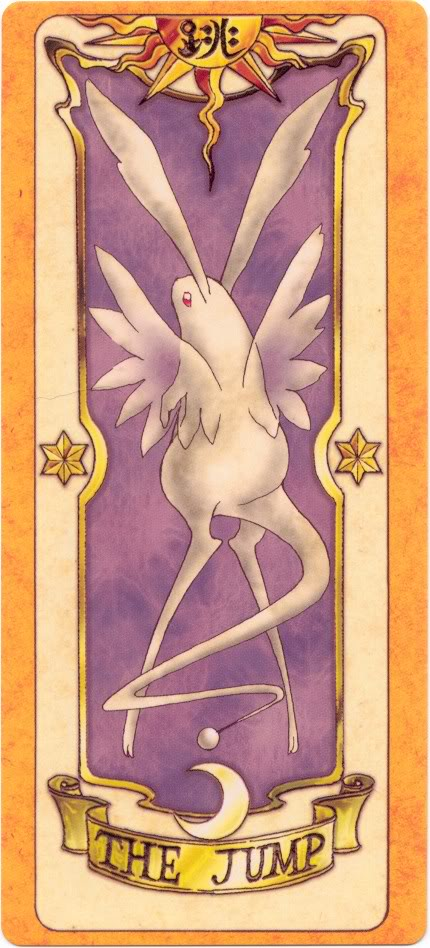 Sakura Card Captors Clow-Jump