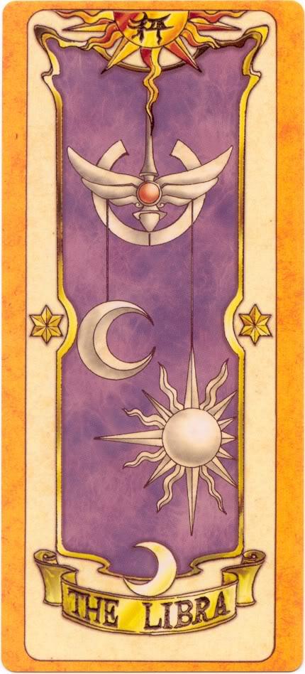 Sakura Card Captors Clow-Libra