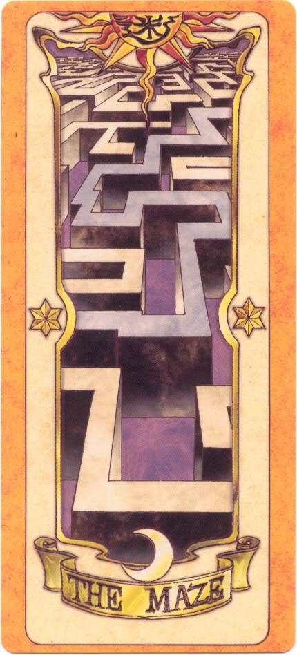 Sakura Card Captors Clow-Maze