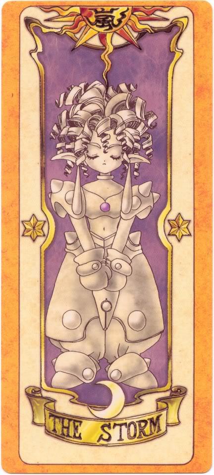Sakura Card Captors Clow-Storm