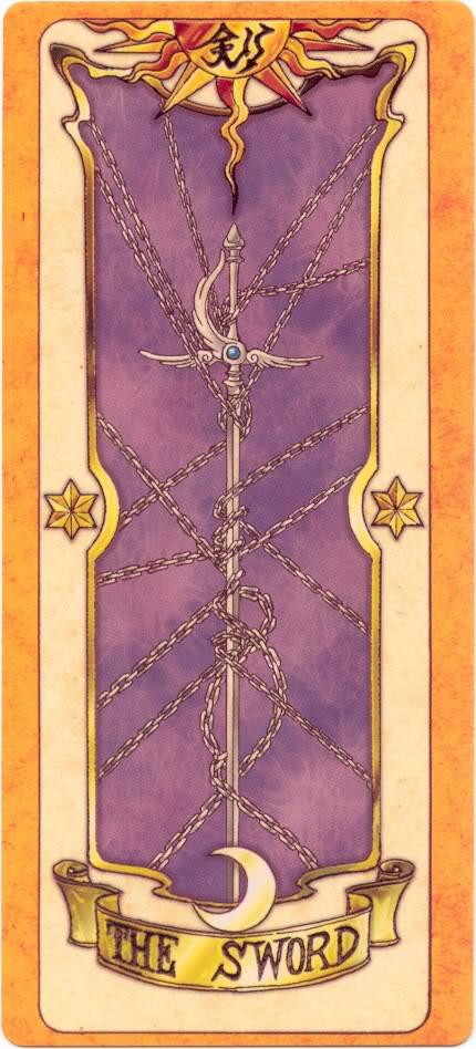 Sakura Card Captors Clow-Sword