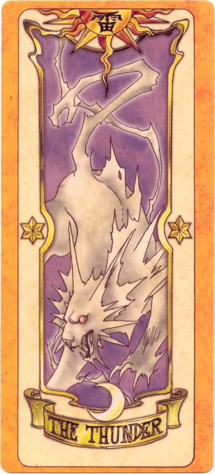 Sakura Card Captors Clow-Thunder