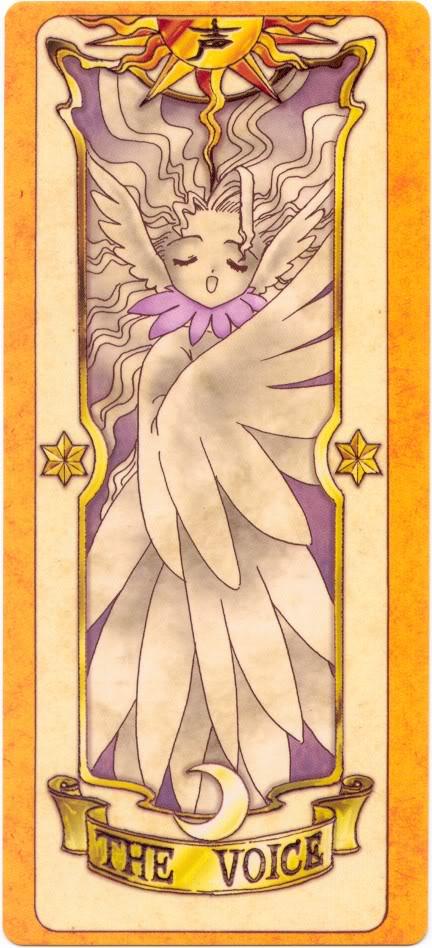 Sakura Card Captors Clow-Voice