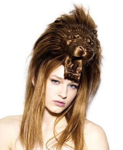 Cortes de cabelo em forma de animais Ccr-01