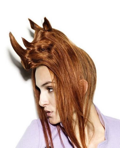 Cortes de cabelo em forma de animais Ccr-05