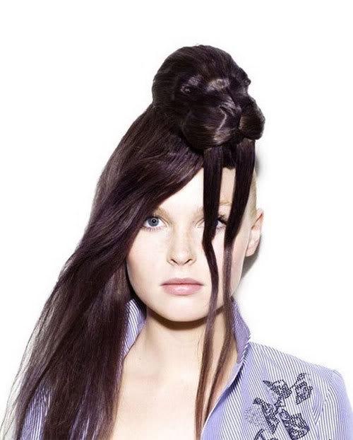Cortes de cabelo em forma de animais Ccr-06