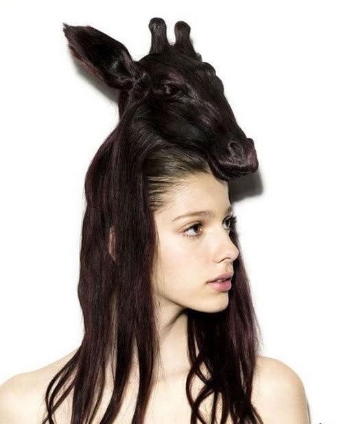 Cortes de cabelo em forma de animais Ccr-13