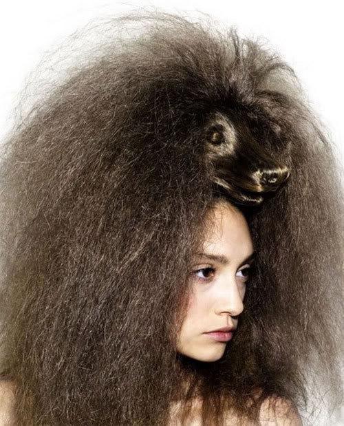 Cortes de cabelo em forma de animais Ccr-15