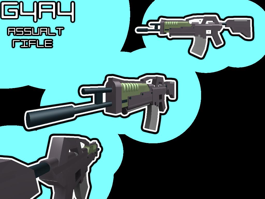 Introducing the new, G4A4 Assault Rifle! -_zpse4522a63