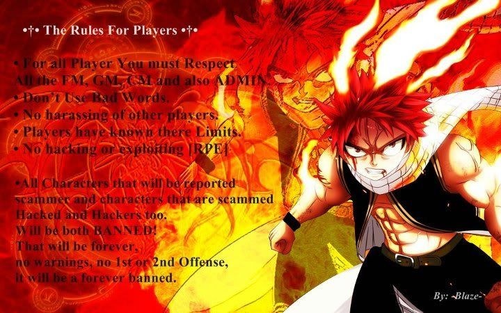 Rules And Regulations for The Players HOPE U LIKE IT ADMIN AND STAFF. 1-1