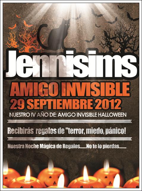 """SIMS ARTISTS  Y  JENNISIMS En el """"Amigo Invisible"""" MAGIC NIGHT Amigoinvisible"""