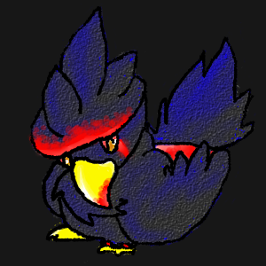 Sem the Infected Murkrow   inactive Semthemurkrow