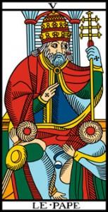 La vía del Tarot. por Alejandro Jodorowski Elpapa-153x300