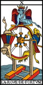 La vía del Tarot. por Alejandro Jodorowski Laruedadefortuna-153x300