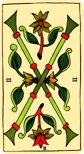 La vía del Tarot. por Alejandro Jodorowski Tarot-marsella-bastos-02-1