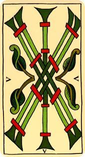 La vía del Tarot. por Alejandro Jodorowski Tarot-marsella-bastos-05