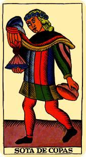 La vía del Tarot. por Alejandro Jodorowski Tarot-marsella-copas-sota