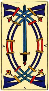 La vía del Tarot. por Alejandro Jodorowski Tarot-marsella-espadas-05