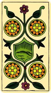 La vía del Tarot. por Alejandro Jodorowski Tarot-marsella-oros-04